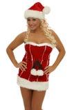 Mulher do Natal Imagem de Stock Royalty Free