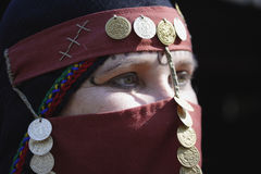 Mulher do Oriente Médio Fotografia de Stock