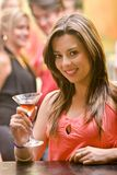 Mulher do partido Imagem de Stock