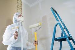 Mulher do pintor Fotografia de Stock Royalty Free