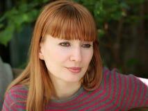 Mulher do Redhead fotografia de stock royalty free