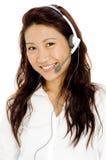 Mulher do serviço de informações fotos de stock royalty free