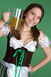 Mulher do St Patrick fotos de stock royalty free