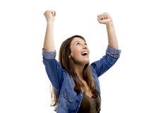 Mulher do sucesso imagem de stock royalty free