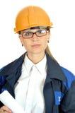 Mulher do trabalhador novo Fotografia de Stock Royalty Free