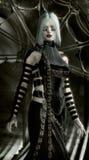 Mulher do vampiro Foto de Stock Royalty Free