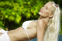 Mulher do verão Imagens de Stock
