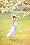 Mulher do verão foto de stock