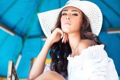 Mulher do verão Foto de Stock Royalty Free