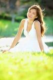 Mulher do verão/mola Foto de Stock