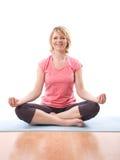 Mulher do zen Imagem de Stock Royalty Free