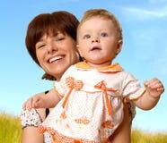 Mulher e a criança imagem de stock royalty free