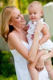 Mulher e criança imagens de stock royalty free