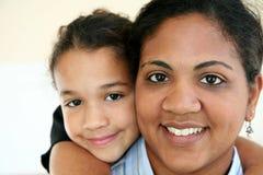 Mulher e filha Fotos de Stock Royalty Free
