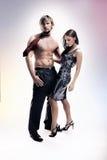 Mulher e homem Imagem de Stock Royalty Free
