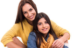 Mulher e menina Imagens de Stock