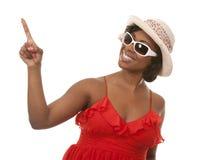 Mulher e verão Fotos de Stock Royalty Free