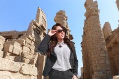 Mulher egípcia bonita Imagem de Stock Royalty Free