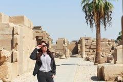 Mulher egípcia bonita Imagem de Stock