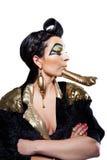 Mulher egípcia nova Imagem de Stock Royalty Free