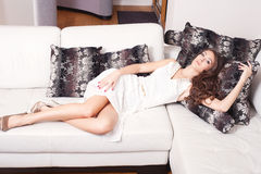 Mulher elegante Imagens de Stock Royalty Free