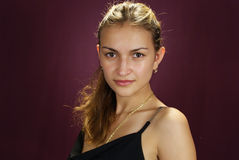 Mulher elegante bonita Fotografia de Stock