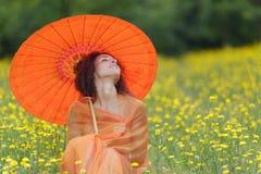 Mulher elegante bonita Imagens de Stock Royalty Free