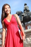 Mulher em Madrid Imagem de Stock Royalty Free