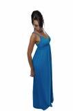 Mulher em um vestido Imagens de Stock