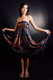 Mulher em um vestido Foto de Stock Royalty Free