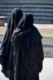 Mulher encoberta muçulmanos Foto de Stock