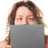 Mulher engraçada foto de stock royalty free