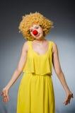 Mulher engraçada Imagens de Stock Royalty Free