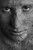 Mulher escultural fotografia de stock