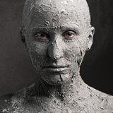 Mulher escultural foto de stock royalty free