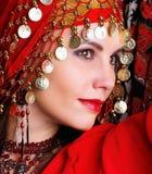 Mulher exótica Foto de Stock
