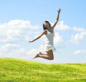 Mulher feliz imagens de stock royalty free