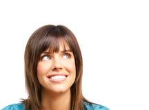 Mulher feliz Fotos de Stock