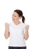 Mulher feliz Imagens de Stock