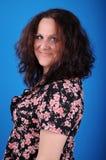 Mulher feliz foto de stock