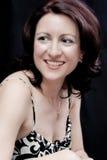 Mulher feliz bonita foto de stock royalty free