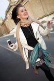 Mulher feliz nova Imagem de Stock