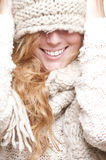 Mulher feliz nova Fotos de Stock