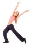 Mulher feliz nova Foto de Stock Royalty Free
