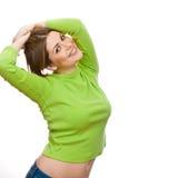 Mulher feliz nova Imagens de Stock