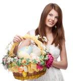 Mulher festiva engraçada Fotos de Stock Royalty Free