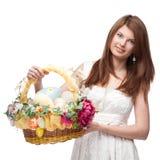 Mulher festiva engraçada Imagem de Stock