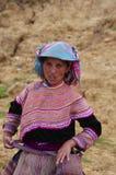 Mulher florescida de Hmong Imagens de Stock Royalty Free
