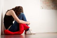 Mulher forçada   Fotografia de Stock