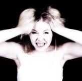 Mulher forçada Imagem de Stock